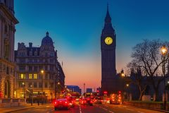 ben big london night Στοκ φωτογραφίες με δικαίωμα ελεύθερης χρήσης