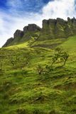 Ben Bulben, County Sligo. Ben Bulben rock formation in County Sligo stock image