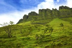 Ben Bulben, County Sligo. Ben Bulben rock formation in County Sligo, Ireland royalty free stock photography