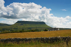 Ben Bulben, Sligo, Ireland. Ben Bulben mountain in County Sligo, Ireland Stock Photo