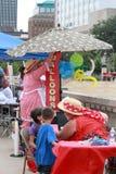 Ben Carson Family Festival, Court Avenue, Des Moines, Iowa, August 8, 2015 Stock Photos