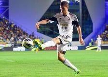 Ben Davies in Petrolul Ploiesti-Swansea FC Stock Images