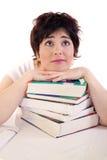 Ben de gaande pas van I het examen? royalty-vrije stock afbeelding