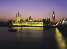 ben domów London wielki parlamentu Fotografia Stock