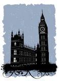 ben duży England London ilustracji