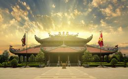 Ben Duoc Temple, Cu Chi Tunnel royalty free stock photography
