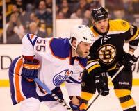 Ben Eager, Edmonton Oilers Stock Photography