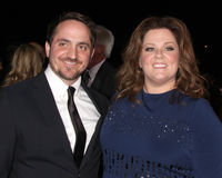 Ben Falcone; Melissa McCarthy arrives at the 2012 Palm Springs International Film Festival Gala Royalty Free Stock Image