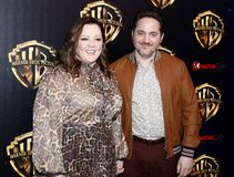 Ben Falcone, Melissa McCarthy. Ben Falcone and Melissa McCarthy at the 2019 CinemaCon - Warner Bros. Pictures `The Big Picture` Presentation held at the Caesars stock image
