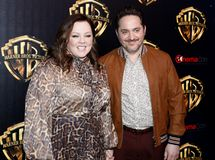 Ben Falcone, Melissa McCarthy. Ben Falcone and Melissa McCarthy at the 2019 CinemaCon - Warner Bros. Pictures `The Big Picture` Presentation held at the Caesars royalty free stock photos