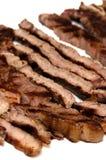 Ben fatto rosmarini tagliati bistecca del barbecue Fotografia Stock Libera da Diritti