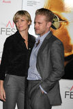 Ben Foster, Robin Wright Stock Image