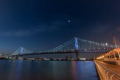 ben franklin γεφυρών Στοκ Φωτογραφίες