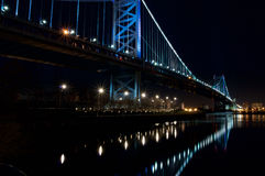 ben Franklin bridge Fotografia Stock