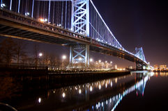 ben Franklin bridge Fotografia Royalty Free