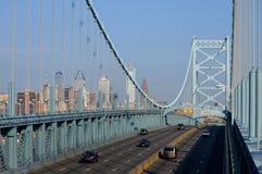 ben Franklin bridge obraz royalty free