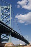 Ben Franklin Bridge Philadelphia Royalty-vrije Stock Afbeeldingen