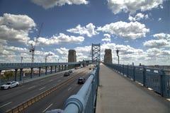 Ben Franklin bridge. In Philadelphia Stock Photo