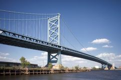 Ben Franklin Bridge Philadelphia Stock Photography