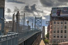 Ben Franklin bridge Royalty Free Stock Photography
