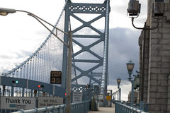 Ben Franklin bridge Stock Images