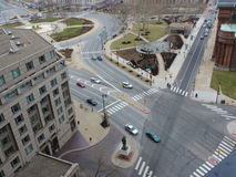 Ben Franklin Parkway Stock Photo