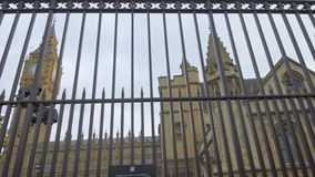 Ben grande e as casas do parlamento video estoque