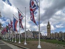Ben grande e casas do parlamento Fotografia de Stock