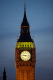 Ben grande e Westminster na noite fotos de stock royalty free