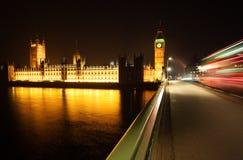 Ben grande en la noche Fotos de archivo libres de regalías