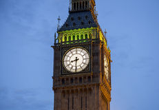 Ben grande iluminado acima na noite Imagem de Stock Royalty Free