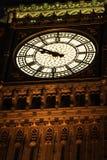Ben grande iluminado na noite, Londres, Inglaterra foto de stock royalty free