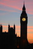 Ben grande, Londres, Inglaterra Imagem de Stock Royalty Free