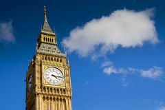 Ben grande, Westminster, Londres Imagenes de archivo