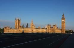 Ben grande y casas del parlamento en Londres Fotos de archivo libres de regalías