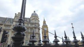 Ben grande y las casas del parlamento almacen de metraje de vídeo