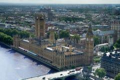 Ben grande y las casas del parlamento, Londres Fotografía de archivo libre de regalías