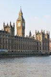 Ben grande y Westminster Abby, Londres Fotografía de archivo