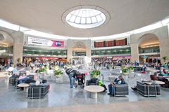 Ben Gurion airport duty free Stock Photo