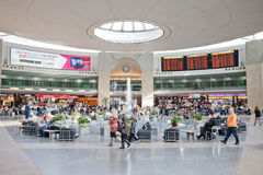 Ben Gurion airport main terminal Royalty Free Stock Photos