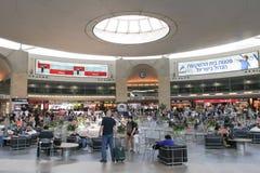 Ben Gurion airport main terminal Stock Photos