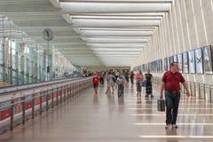 Ben Gurion airport main terminal Stock Photography