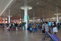 Ben Gurion Airport. Tel Aviv Royalty Free Stock Photography