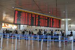 Ben Gurion Airport. Tel Aviv Stock Images