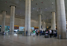 Ben Gurion airport in Tel Aviv Royalty Free Stock Photos