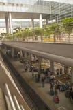 Ben Gurion Airport Train Station, Tel Aviv, Israël Photographie stock