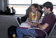 BEN GURION INTERNATIONAL aéroport Images libres de droits