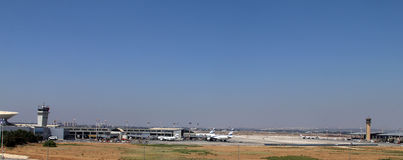 Ben Gurion International Airport Photographie stock libre de droits