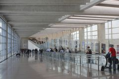 Ben-Gurion International Airport Tel Aviv Stock Image
