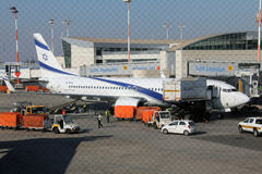 Ben Gurion International Airport Stock Photo